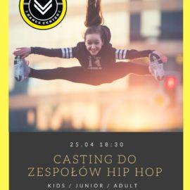Casting do sportowych zespołów HIP-HOP !!!
