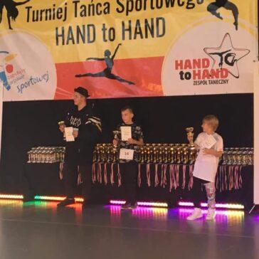 Sukcesy Vibe Dance Center na Turnieju Hand to Hand