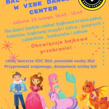 Bal Karnawałowy w Vibe Dance Center