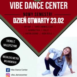 Zapraszamy wszystkie dzieci na dzień otwarty w Vibe Dance Center! 😁  Zapisy trwają ❗️