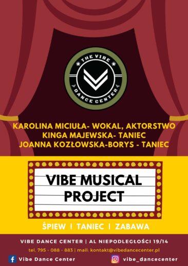 projekt musicalowy dla dzieci Mokotów Warszawa, śpiew taniec, aktorstwo, scena, zajęcia musicalowe dla dzieci