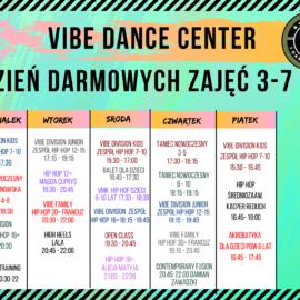 Tydzień otwarty Vibe Dance Center