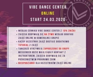 Szkoła Tańca online Hip-Hop online