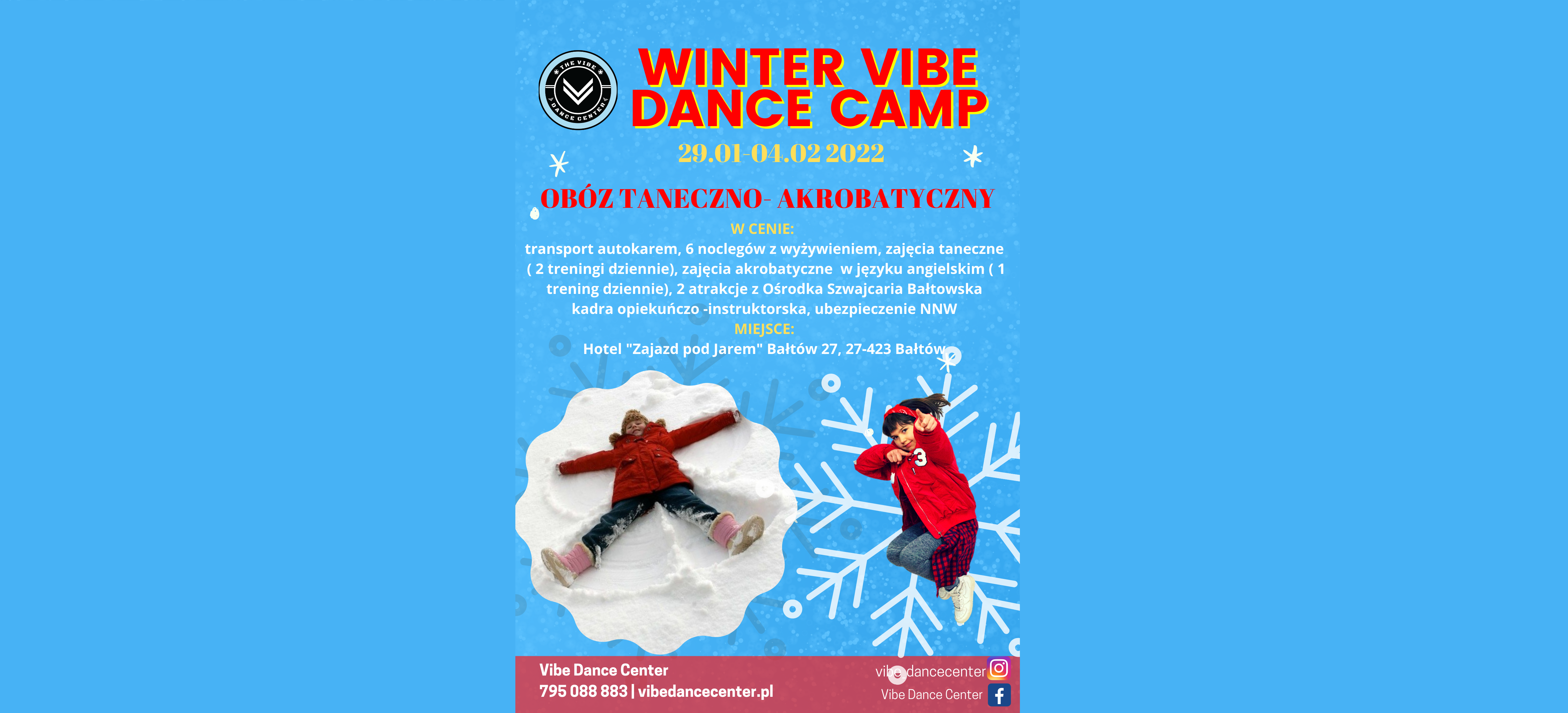 Winter Vibe Dance Camp 2022